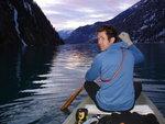 Stefan on Seton Lake