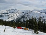 Coquihalla Mtn. is left of center