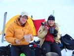 Evan and Meghan at camp #2