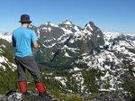 On the East peak of Mt. DeVoe