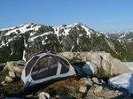 Camp 6 - ridge below Mt. Burman