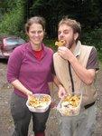 Picking Chanterelles near Squamish