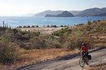 Early morning, leaving Playa Escondida