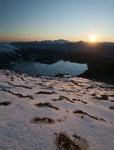 Garibaldi Lake at Sunset