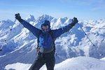 Marius on the summit
