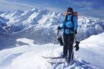 More summit shots: Kathrin
