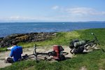 We rode the senic tour of Victoria shoreside