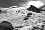 Heading to Lareinfernerspitze 3,009 m, Silvretta - Switzerland. Photo: Michael Kupa