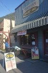 Stewart, BC was way nicer than Hyder, with a nice centre and a great bakery