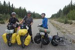 We met a few of cyclists on the way, most of them were going to Patagonia over a year or two. This Swiss couple started riding t