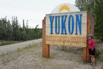 We made it to the Yukon!