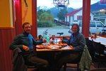 After 1632km we deserved a pizza (also the only place we found open)