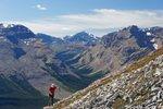 Continuing up, along the ridge