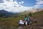 Descending from Poboktan Pass