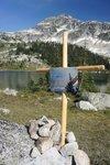Rachel and Jonathan's cross