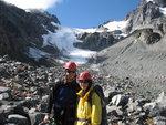 Janine and Maki, Glacier School 2009. Photo: Roland Burton