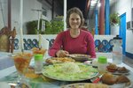 Meal for kings at the casa in Remedios