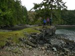 There are some neat hiking trails in Ruckle Provincial Park