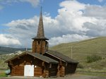 The log church in Quilchena
