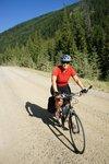 One happy cyclist