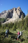 Hiking up Whistling Valley