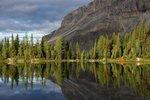Camp on Aurora Lake