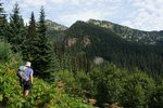 Hiking along the Whatcom Trail towards Snass