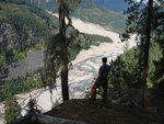 Capricorn Slide, Harrison Trail Lookout, October 2012. Photo: Roland Burton