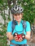 Maya found a cherry tree in Penticton