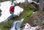 Medium size creek beyond 3rd slide area
