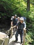 Hiking with the Finzis: Yaron, Michelle, Maayan and Dolev