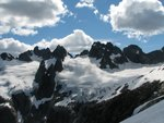 Pandareus, Ionia and Crescent glacier
