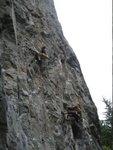 Snort climbing at Chek