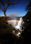 Lunar Rainbow on Victoria Falls