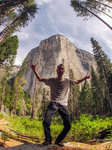 Stoked at El Cap