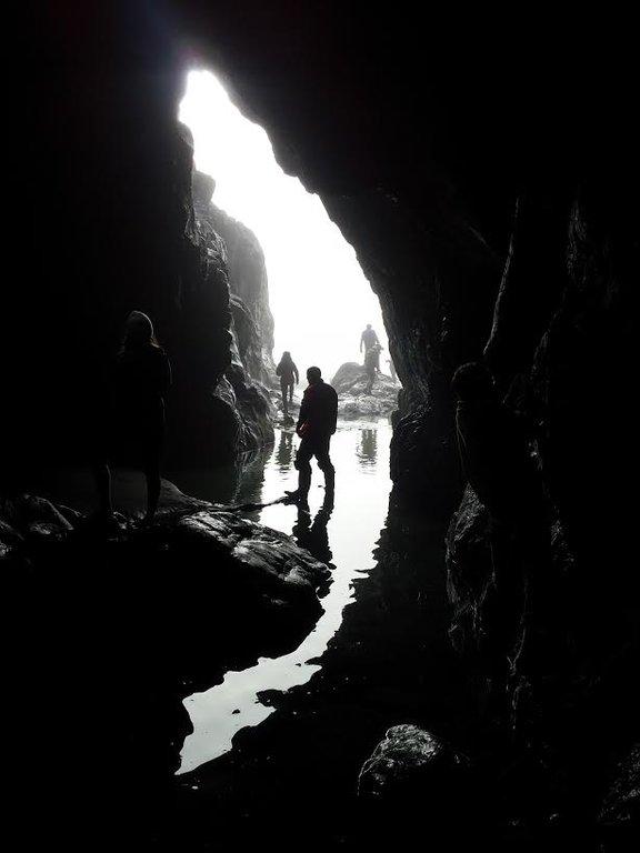 Caves, Chesterman Beach, Tofino. Photo Michael Cancilla