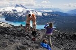 A summit shot au naturel on top of the Black Tusk.Photographer: Anonymous