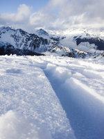 Brew Mt Ski Track and Ranges