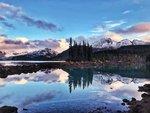 Sunset at Garibaldi Lake