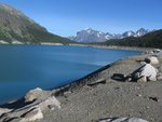 Ape Lake - now half it's original size