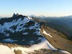 The ridge leading to Mt. Fee