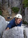 Nick on Squamish Buttress