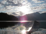 Calm water on Bute Inlet