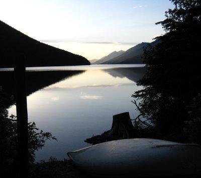 Issac Lake Sunset