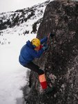 Highly technical dry-tooling going on here