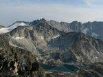 Scrambling on ridge to Linus (first time)