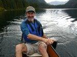 Warrick paddling