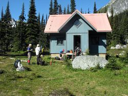 Brian Waddington Hut (August 2007).jpg