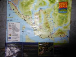 Sunshine Coast Trail Map