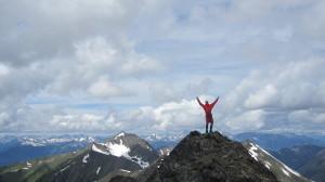 Jeremy on Crystal peak